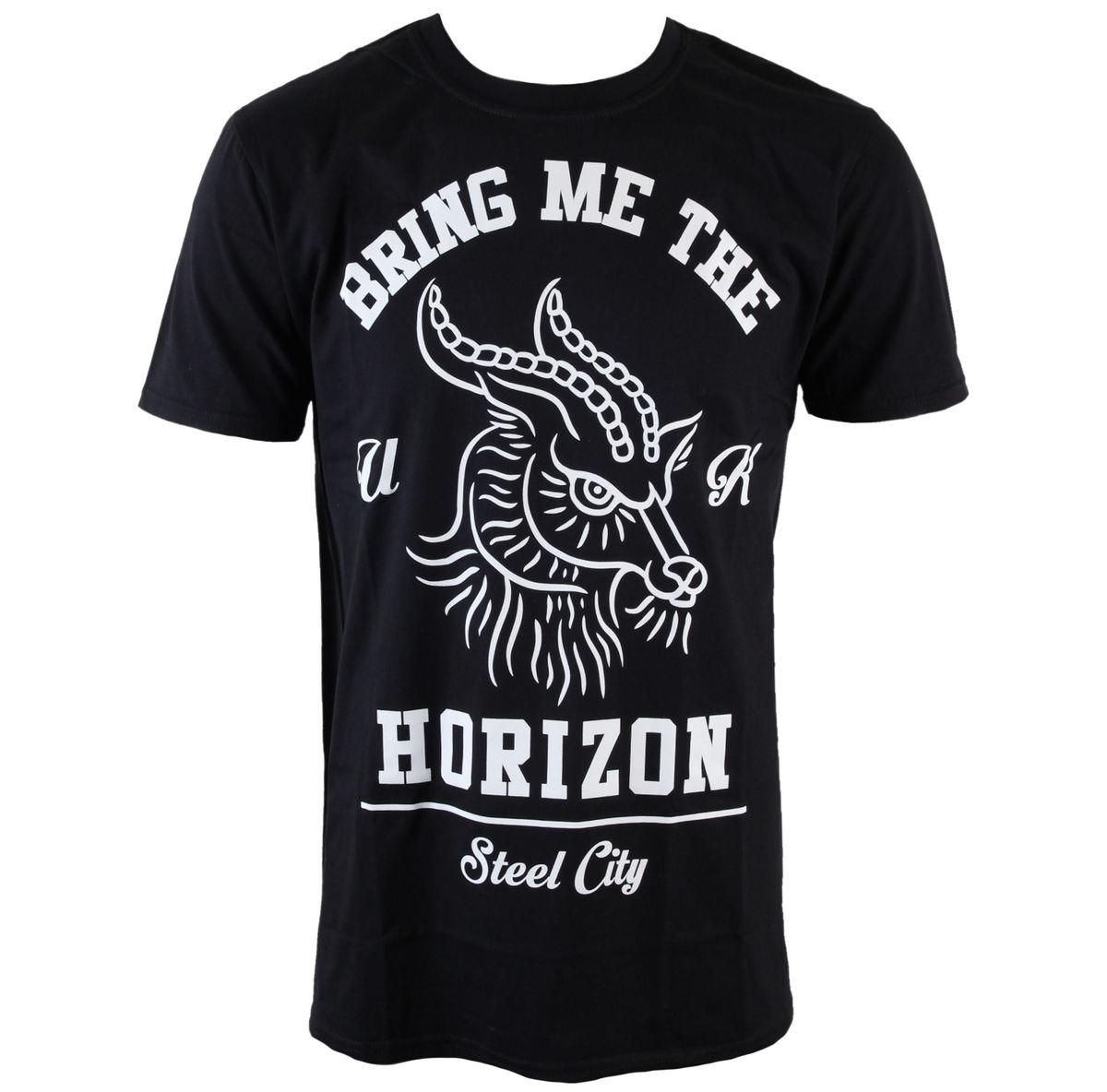 tričko pánské Bring Me The Horizon - Goat - Blk - ROCK OFF - BMTHTS28MB
