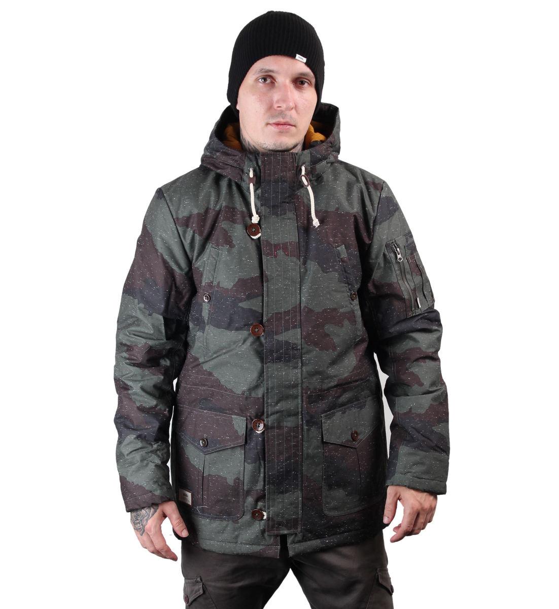 bunda pánská zimní VANS - Talavera - Hillside - Camo - VUOHH90