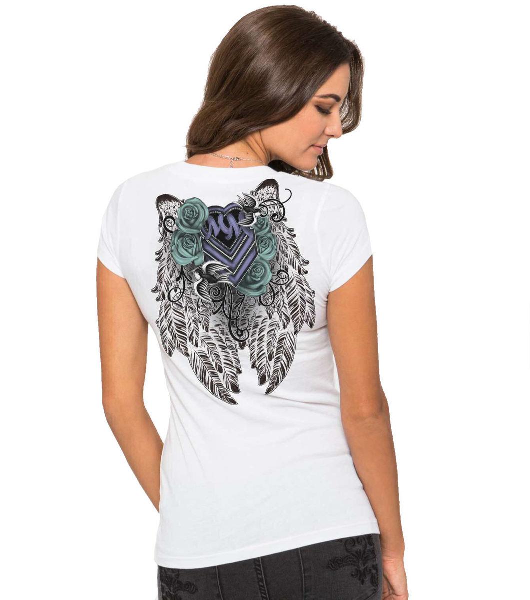tričko dámské -tunika- METAL MULISHA - Ditto - WHT