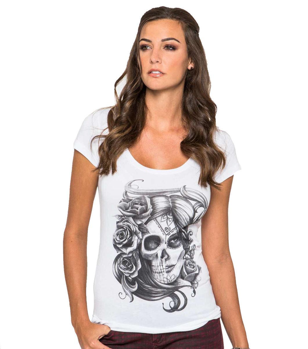 tričko dámské -tunika- METAL MULISHA - Ambivalent - WHT