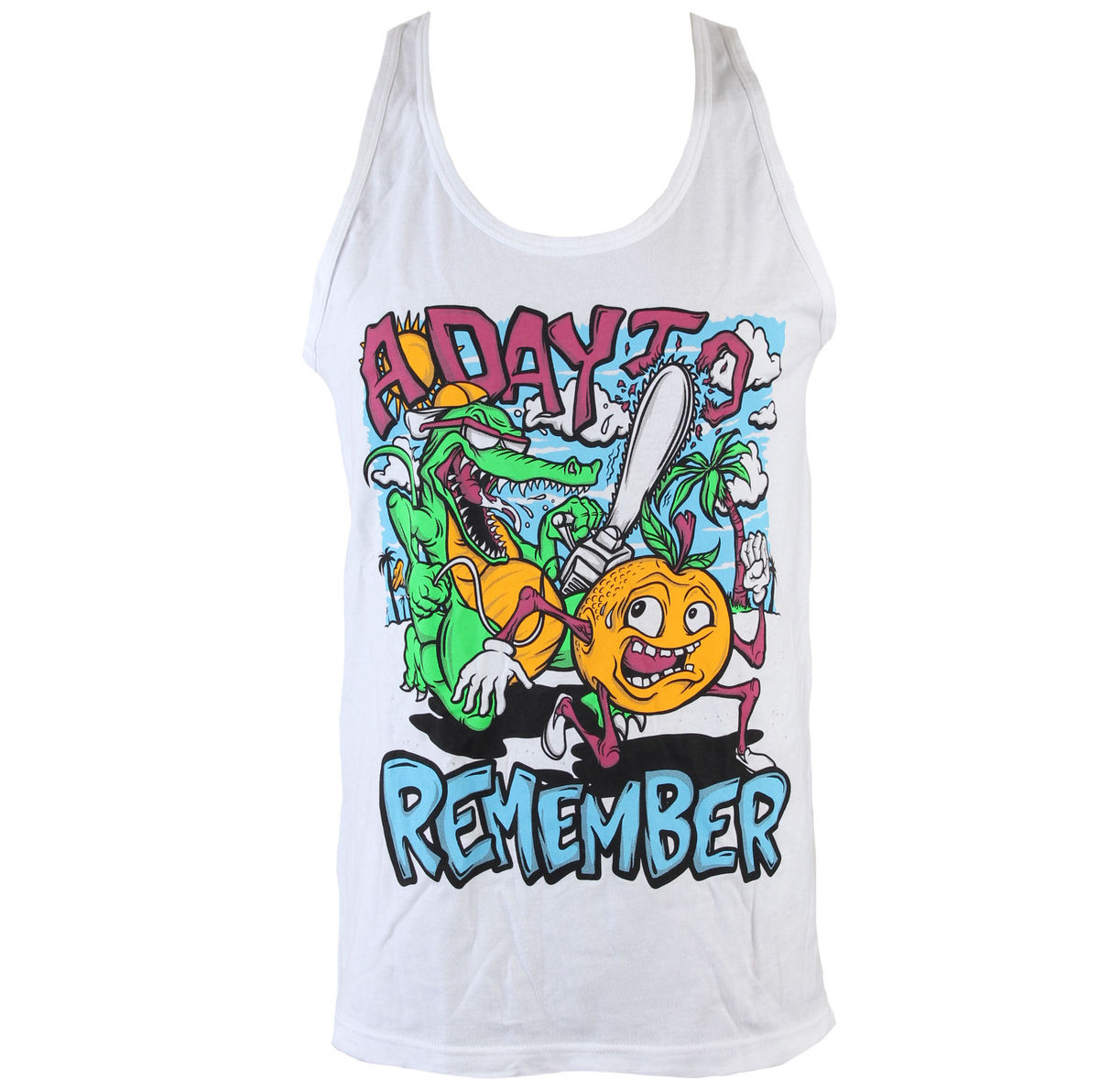 tílko pánské A Day To Remember - Orange You Glad - VICTORY - VT594