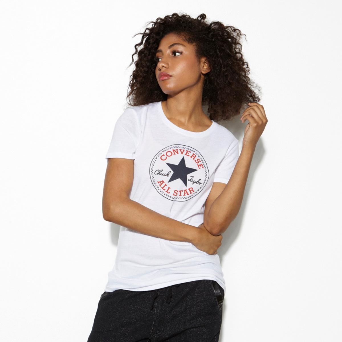 tričko dámské CONVERSE - AWT Core 2 - White - 12016C-102