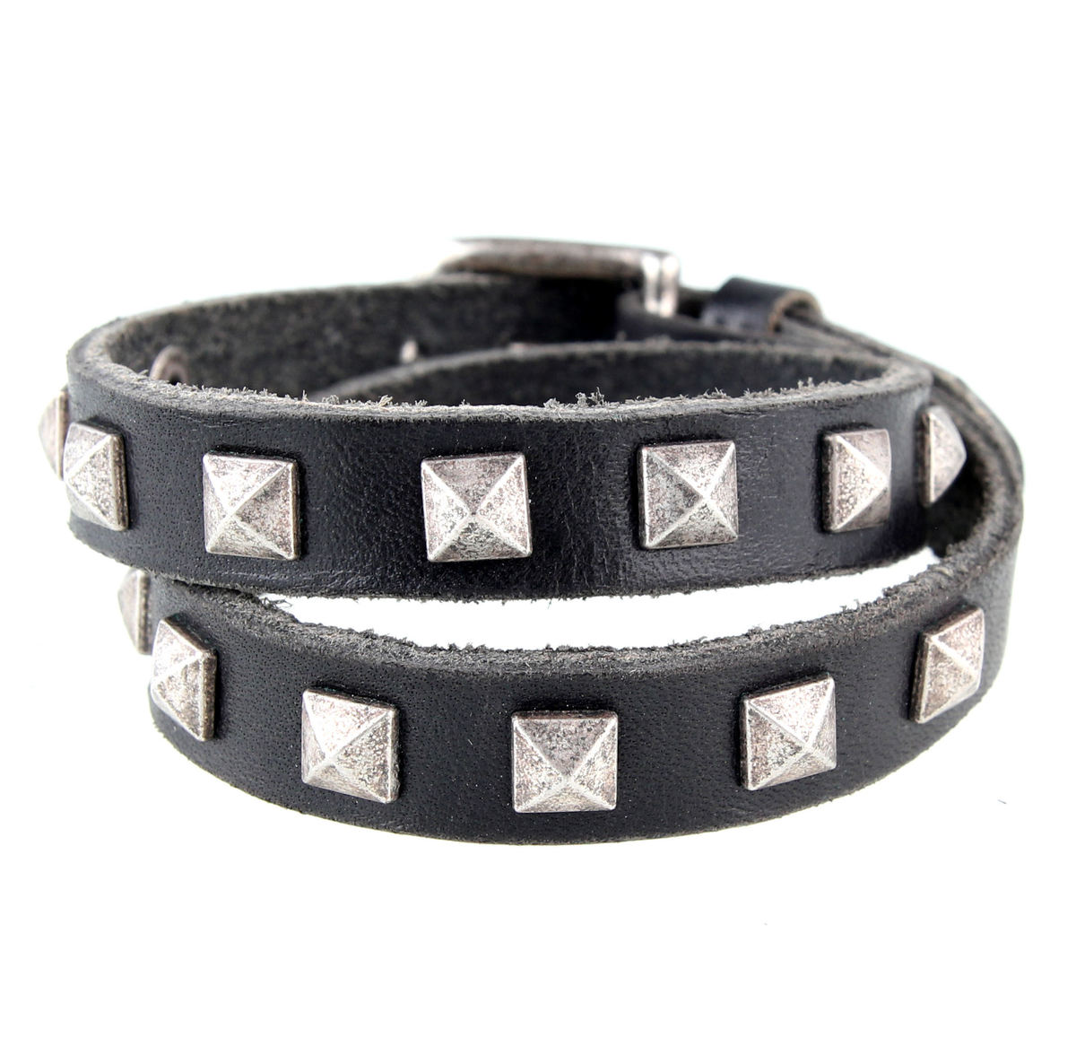 náramek ETNOX - Studs & Leather - UA3001