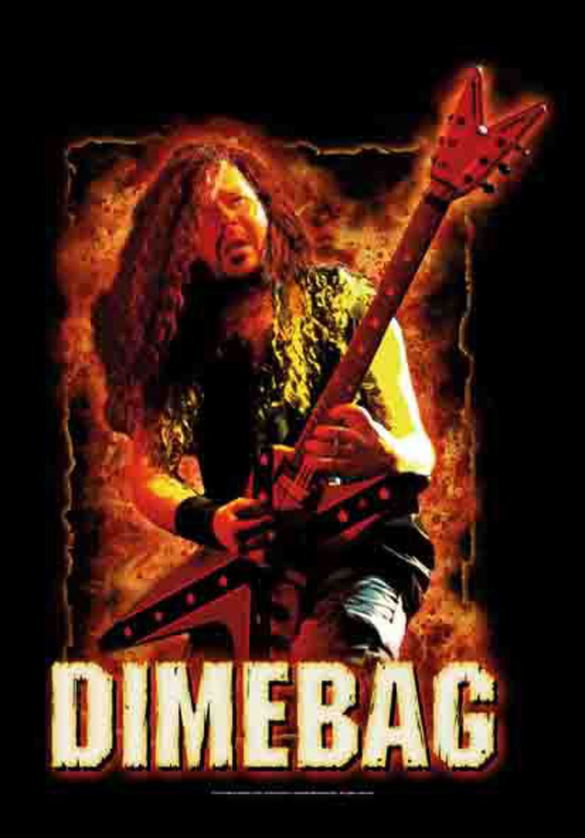 vlajka Dimebag Darrel - Fire - HFL1132