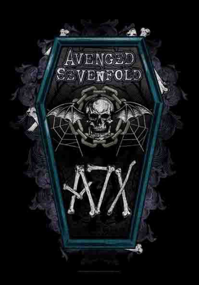 vlajka Avenged Sevenfold - Coffin - HFL1131