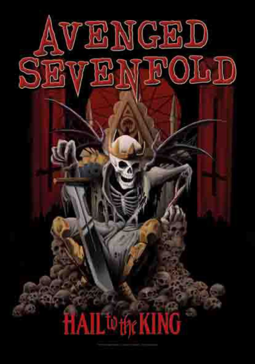 vlajka Avenged Sevenfold - Hail To The King - HFL1125