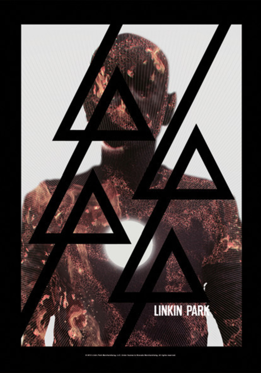 vlajka Linkin Park - Living - Burn It - HFL1108