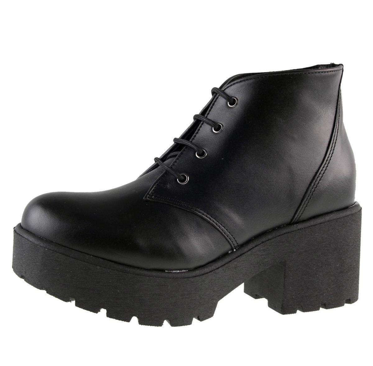 boty dámské ALTERCORE - Nero - Black