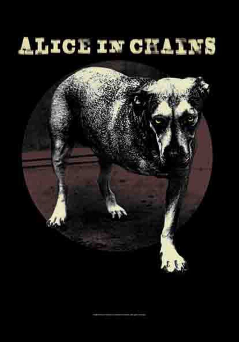 vlajka Alice In Chains - Grin - HFL1153