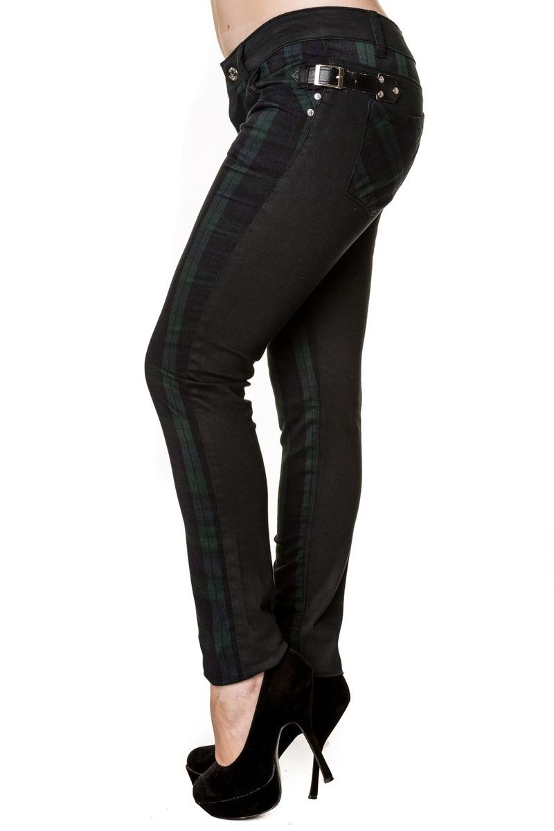 kalhoty dámské BANNED - Green - TBN418