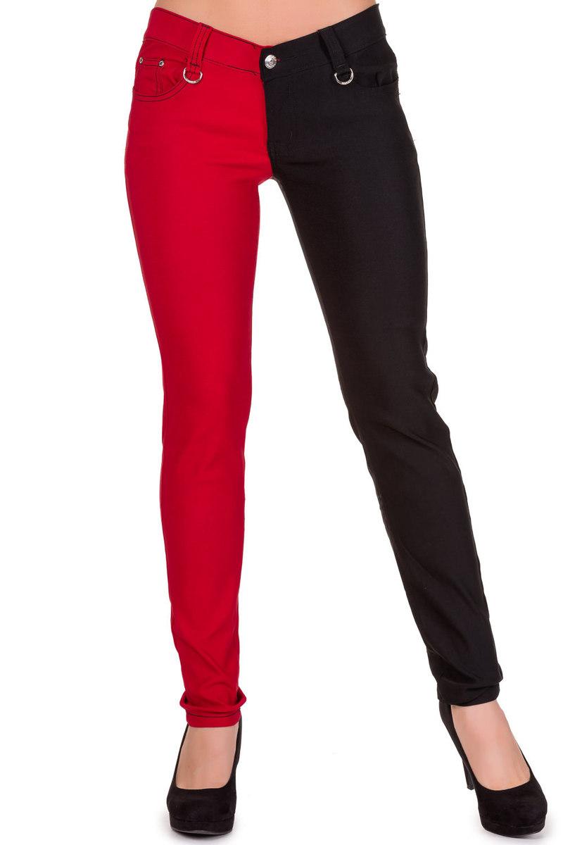 kalhoty dámské BANNED - Red - TBN433