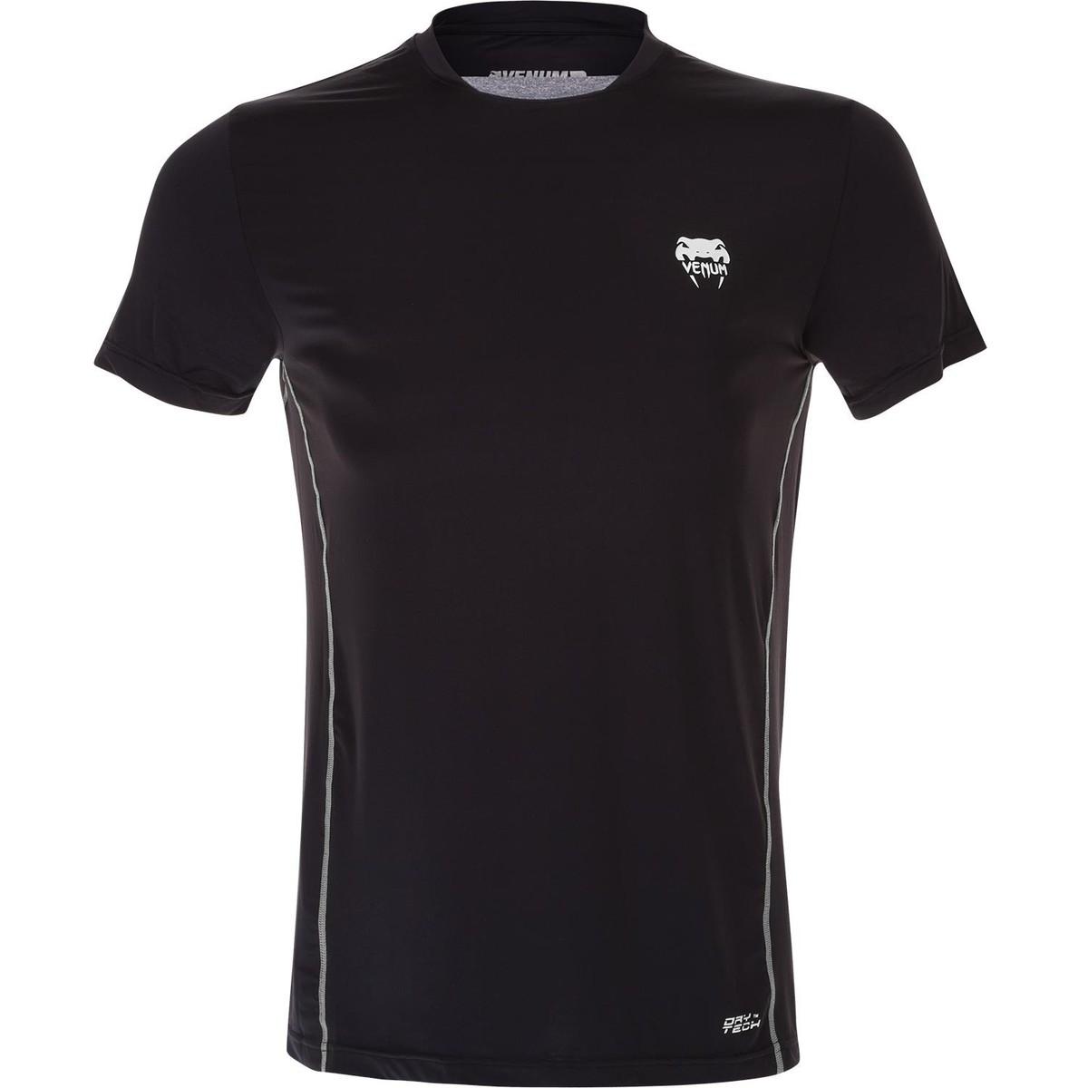 tričko pánské (termo) VENUM - Contender Dry Tech - Black/Ice - 1331