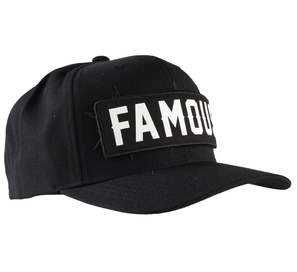kšiltovka FAMOUS STARS & STRAPS - Stick Up - Black - FH03150031