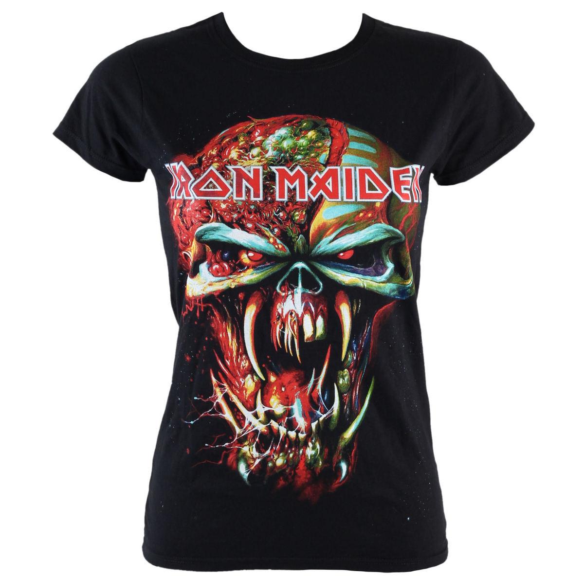 tričko dámské Iron Maiden - Final Frontier Eddie - ROCK OFF - IMTEE18LB