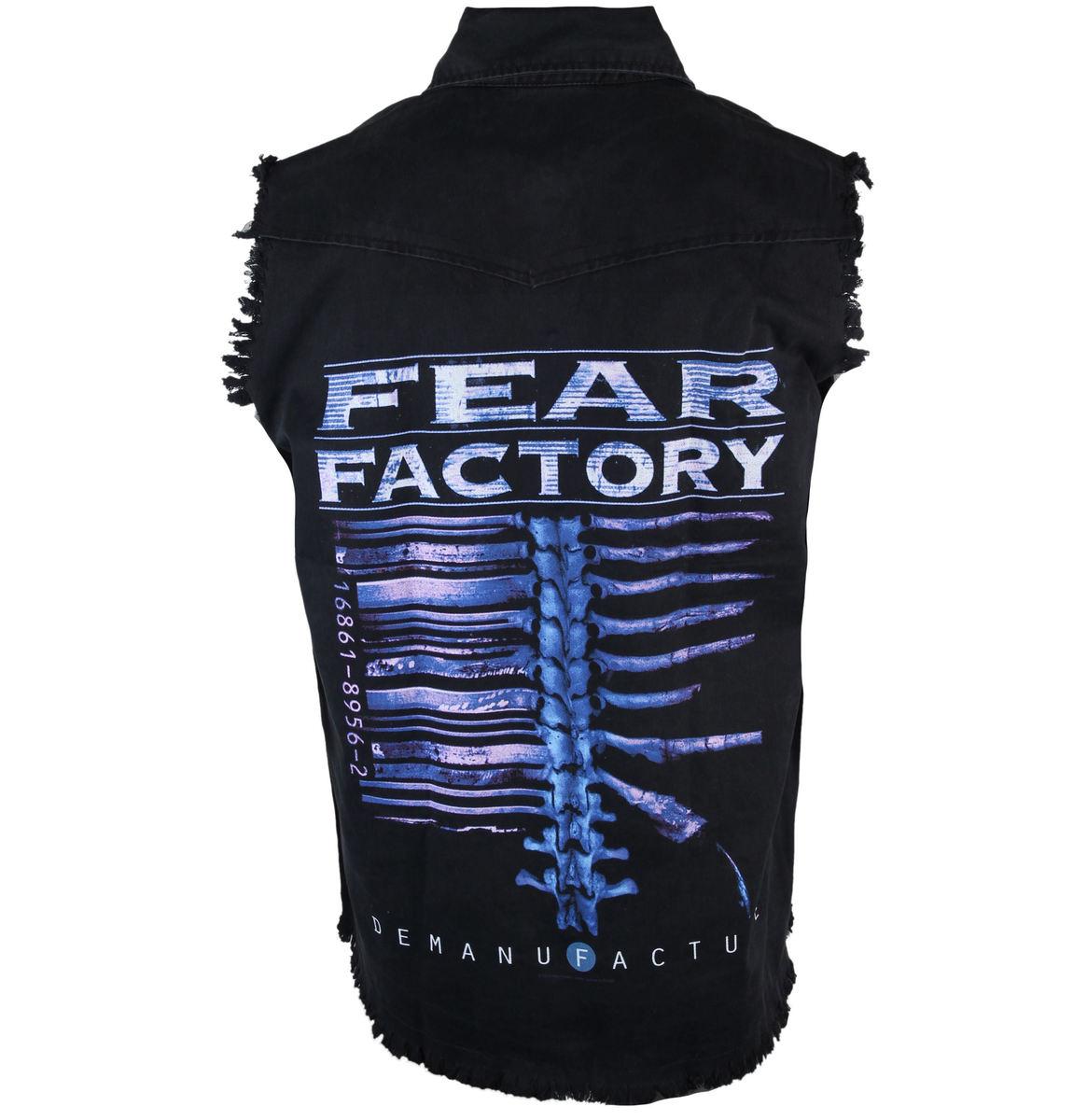 vesta pánská Fear Factory - Demanufacture - RAZAMATAZ - WS071