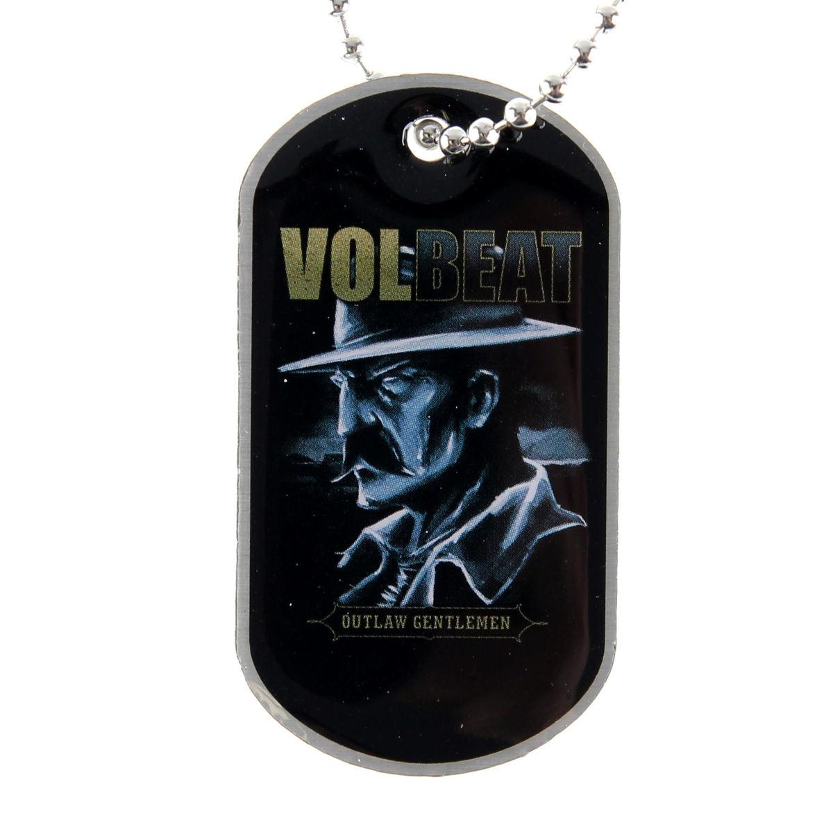 obojek (psí známka) Volbeat - Outlaw Gentlemen - RAZAMATAZ - DT064