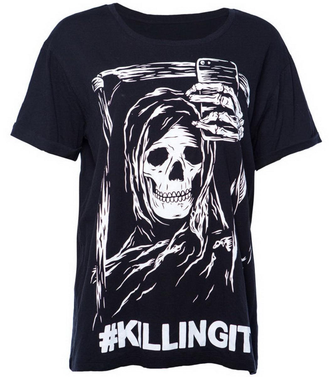 tričko pánské IRON FIST- Killing It Boyfriend - Black - IF003651