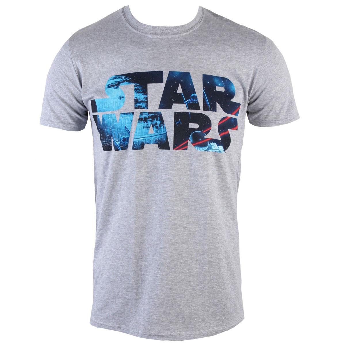 tričko pánské Star Wars - Space Logo - PLASTIC HEAD - PH8834