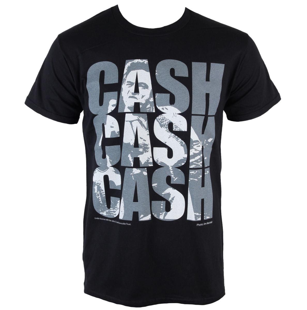 tričko pánské Johnny Cash - Cash Cash Cash - PLASTIC HEAD - PH8655
