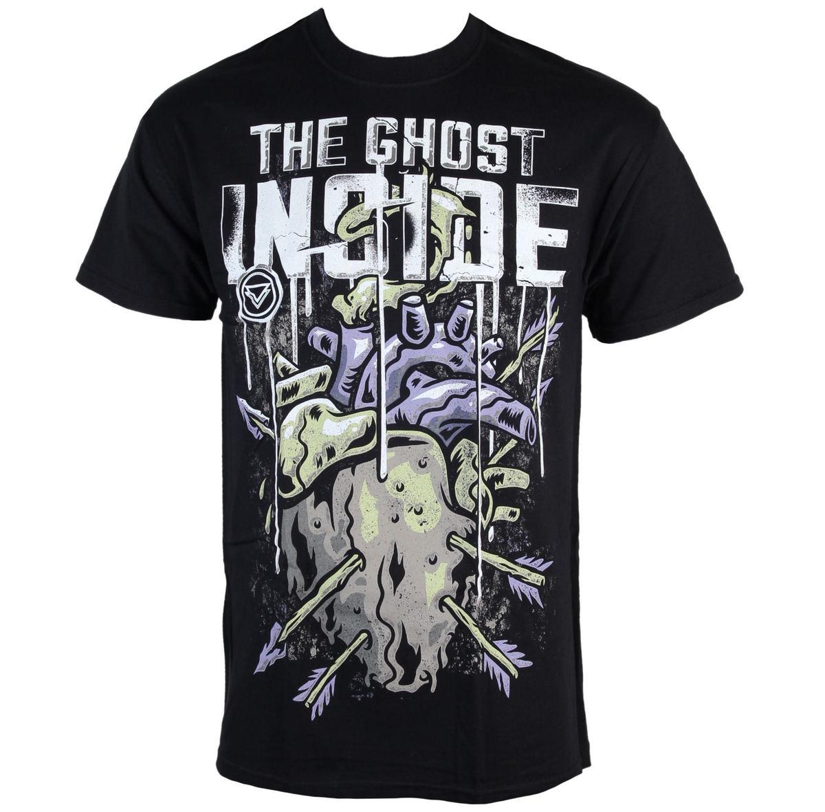 tričko pánské The Ghost Inside - Heart - Black - KINGS ROAD - 47073