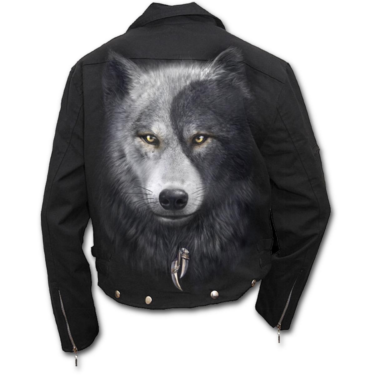 bunda pánská (sako) jarně/podzimní SPIRAL - Wolf Chi - T118M651