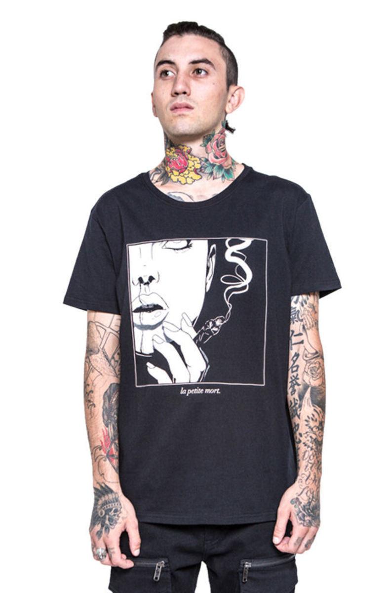 tričko pánské IRON FIST - Black Death - Black - IFM003719