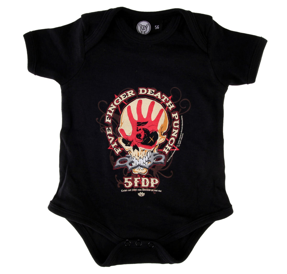 body dětské Five Finger Death Punch - Knucklehead - Black - Metal-Kids - MK235