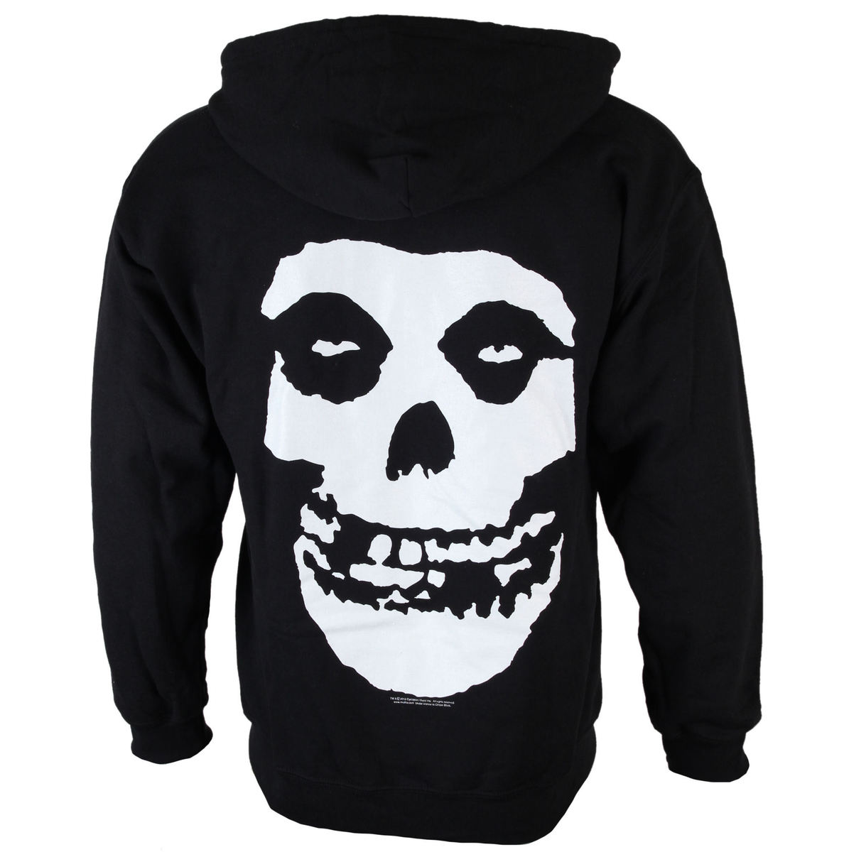 mikina pánská Misfits - Skull And Logo - Black - LIVE NATION - PE12656HSBP