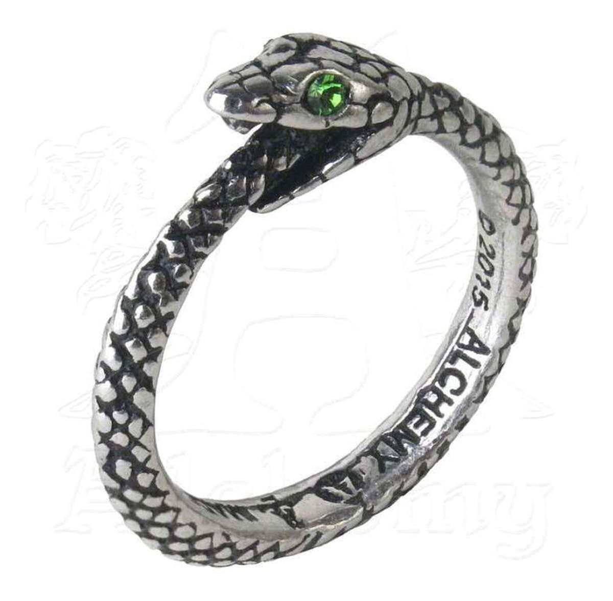 prsten ALCHEMY GOTHIC - The Sophia Serpent - R206 W