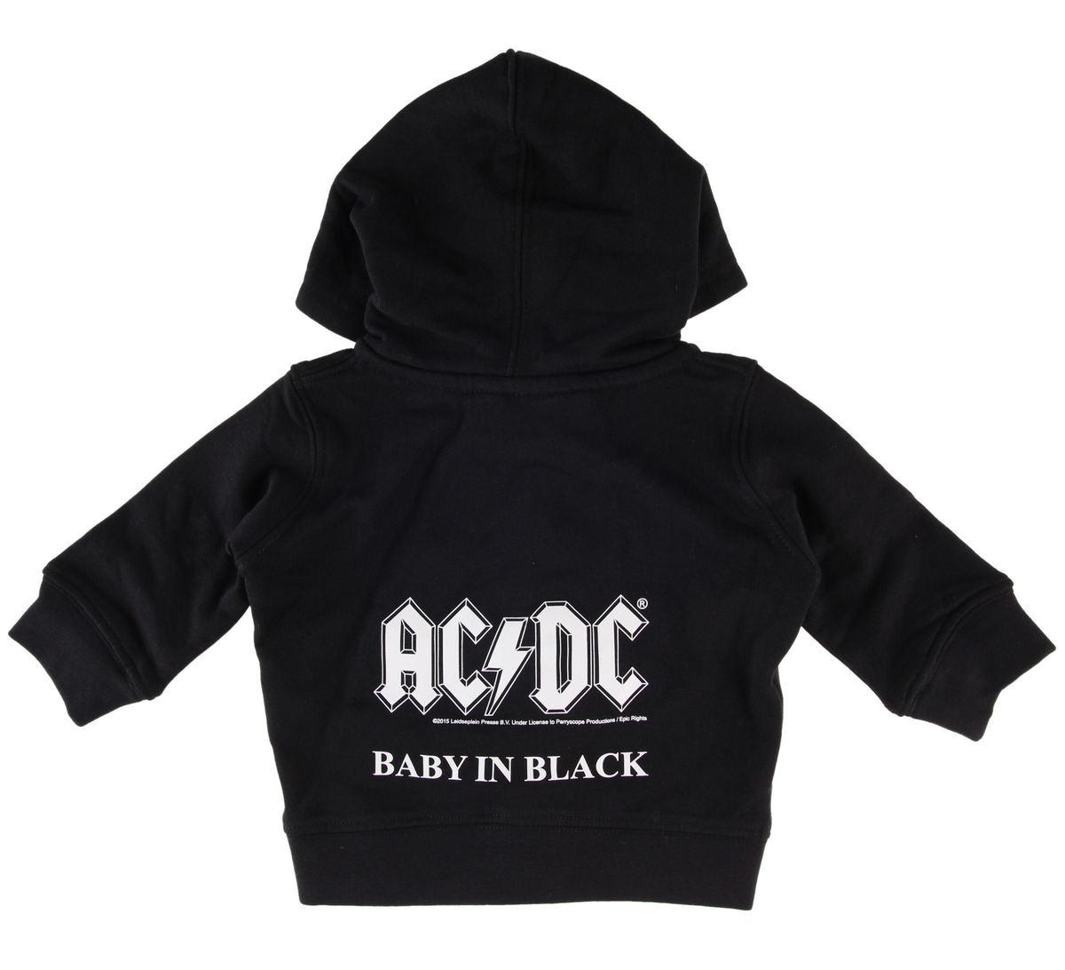 mikina dětská AC/DC - Baby In Black - Metal-Kids - MK220