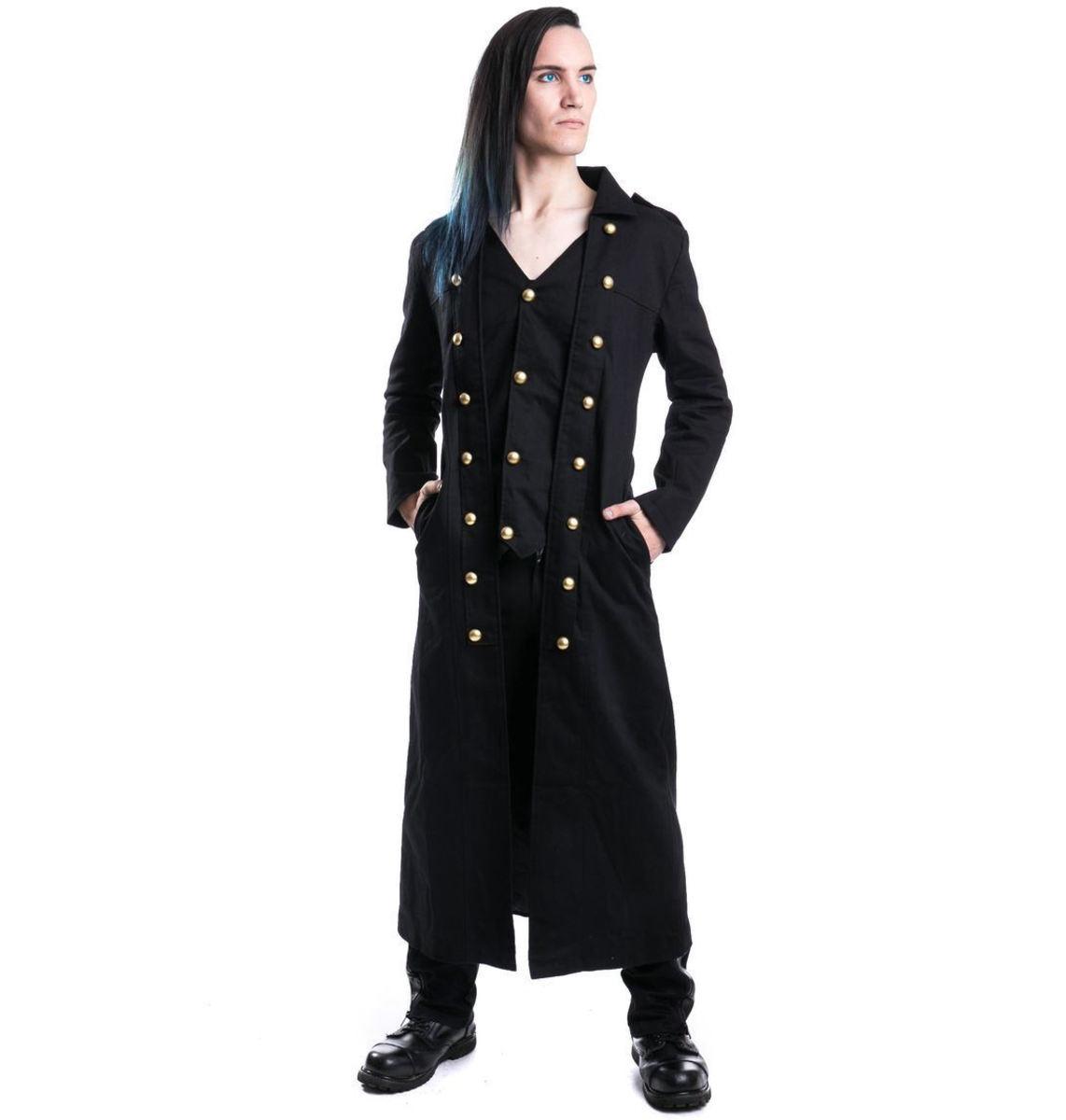 kabát pánský POIZEN INDUSTRIES - Silent - Black - POI025