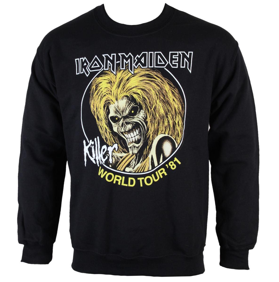 mikina pánská Iron Maiden - Killers 81 - ROCK OFF - IMSWT04MB