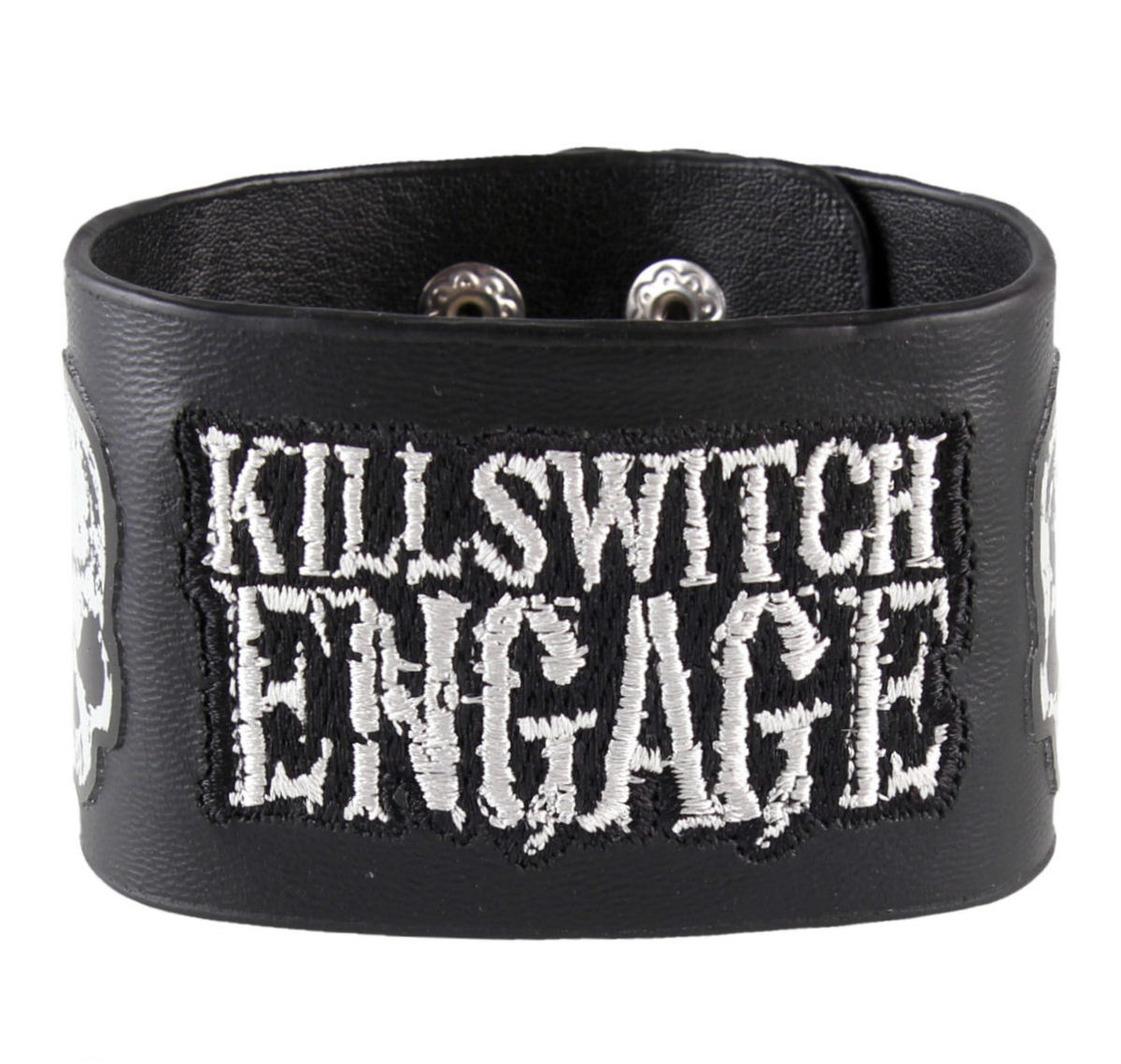 náramek Killswitch Engage - Logo & Skull - BRAVADO - 951411WC00