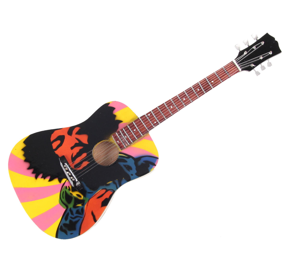 kytara Jimmi Hendrix - Acoustic Tribute - Black - MGT-2820