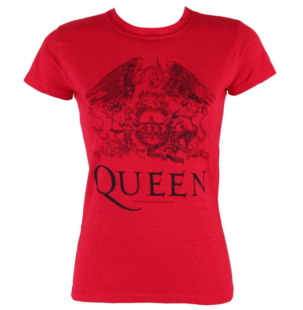 tričko dámské Queen - Logo - BRAVADO - 32771102