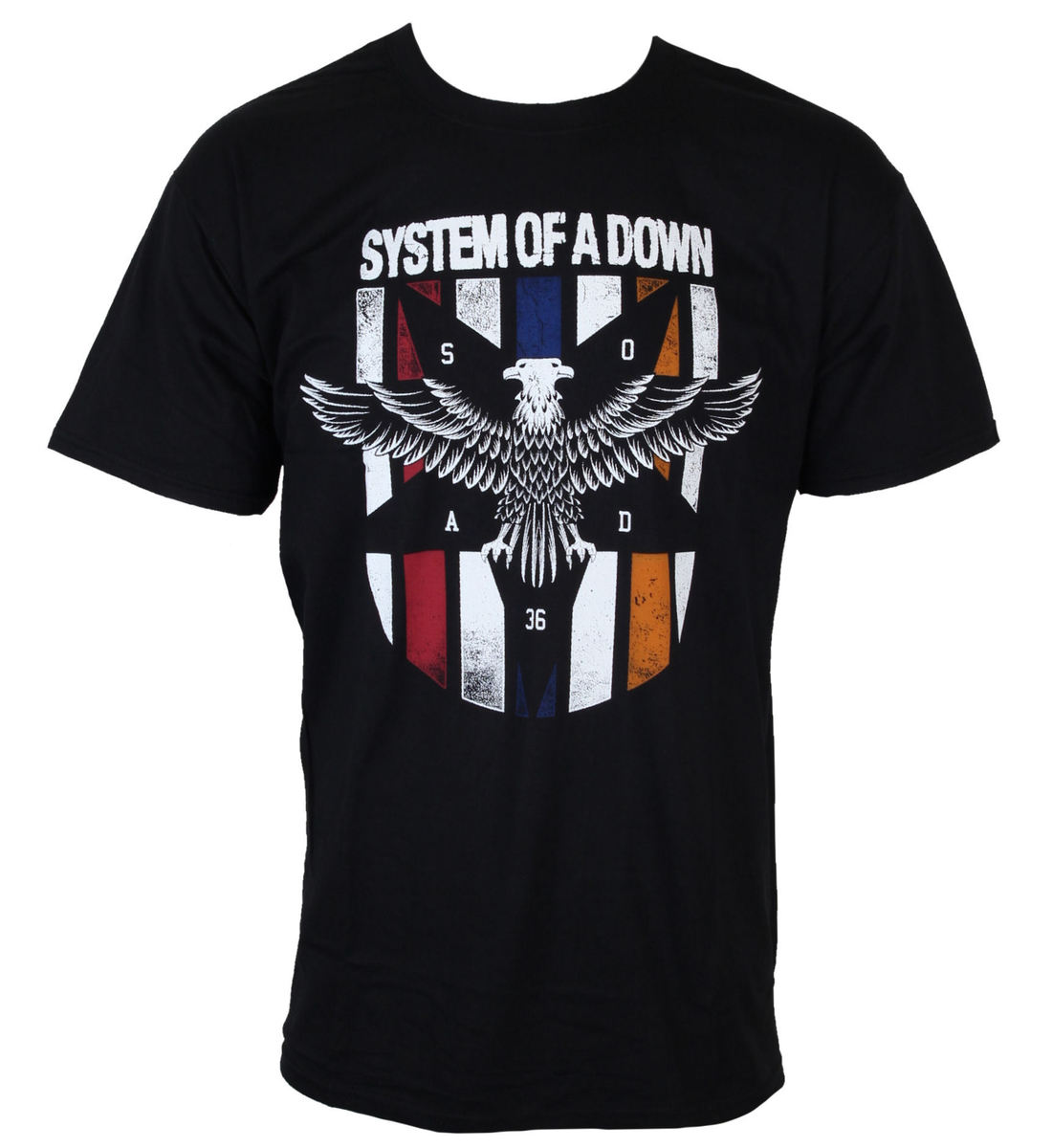 tričko pánské System of a Down - Eagles Colors - BRAVADO - 36251001