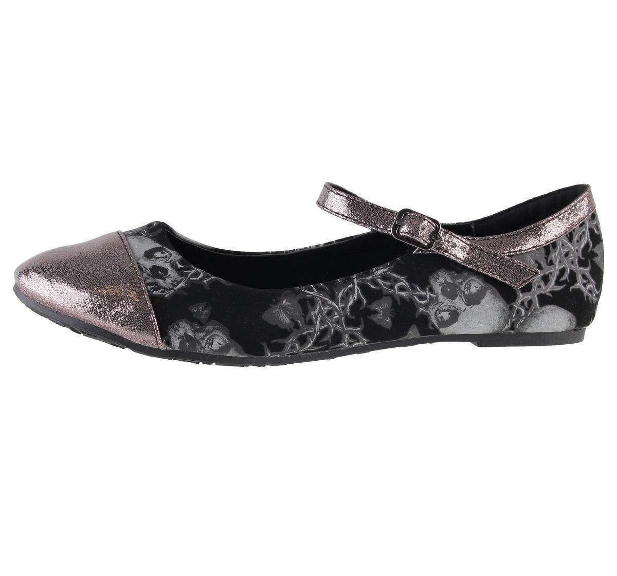 boty dámské (baleríny) IRON FIST - Urban Decay Flat - Black - IFW05083