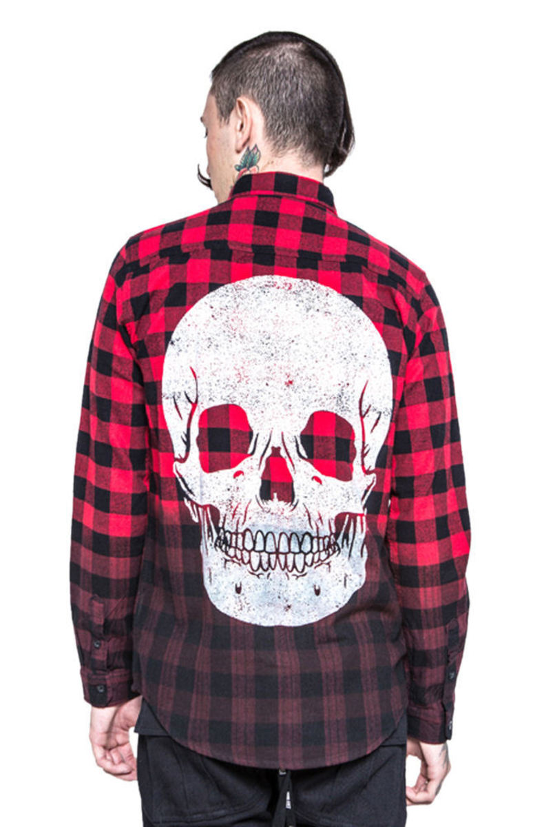košile pánská IRON FIST - Death Breath - Black - IFM003734