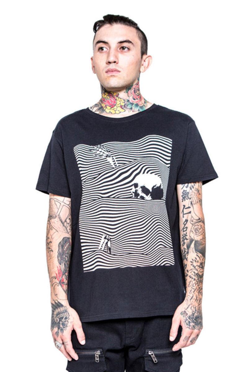tričko pánské IRON FIST - Dead Wave - IFM003683