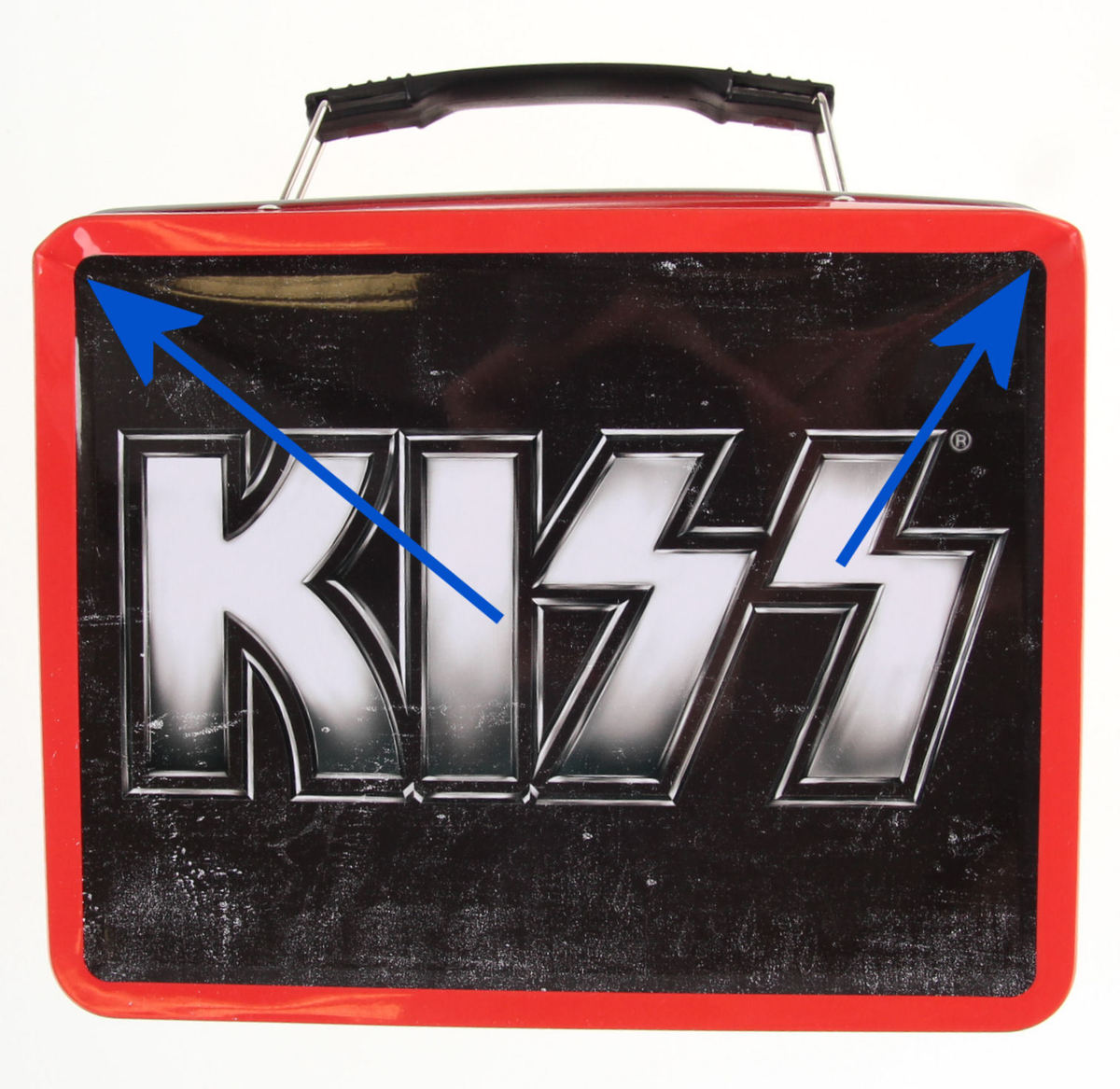 pouzdro na svačinu Kiss - Tin Tote - POŠKOZENÉ - N265