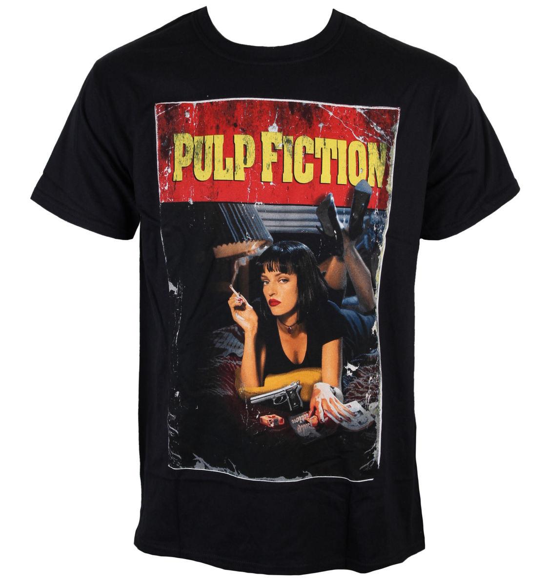 tričko pánské Pulp Fiction - Poster - Black - INDIEGO - Indie0107