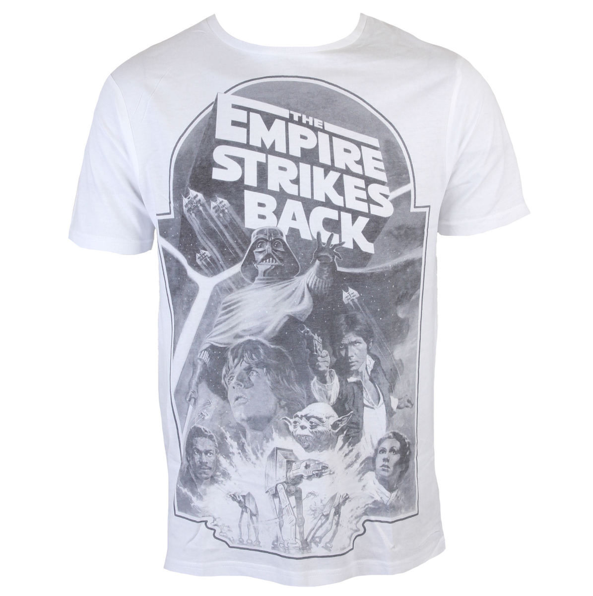 INDIEGO Star Wars Empire Strikes Back Sublimation šedá bílá