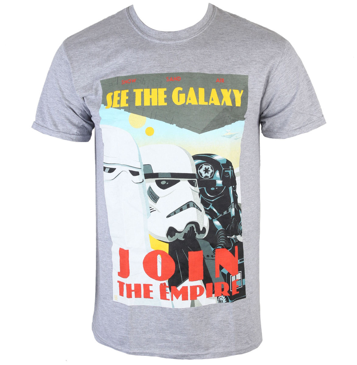 INDIEGO Star Wars Join The Empire šedá