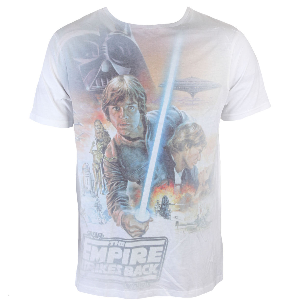INDIEGO Star Wars Luke Skywalker Sublimation šedá bílá
