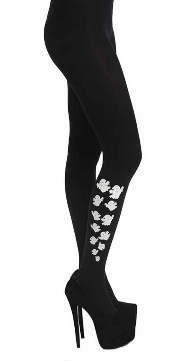 punčocháče PAMELA MANN - Escaping Ghost Tights - Black - PM213 XL