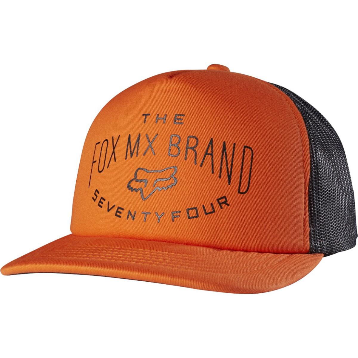 kšiltovka FOX - Thrashed - Orange - 16272-009