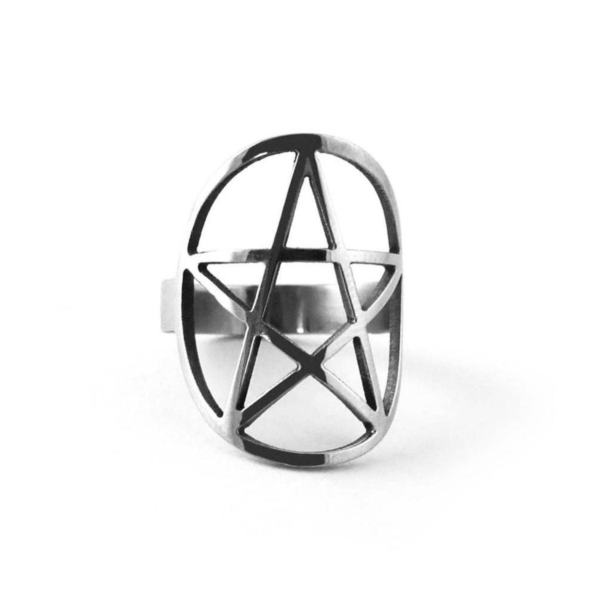 prsten KILLSTAR - Pentagram - KIL094 9