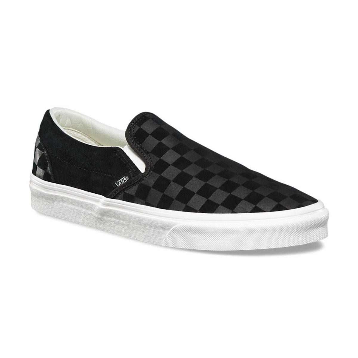 boty VANS - UA CLASSIC SLIP-ON (CHECKER EM) - VA38F7QCF