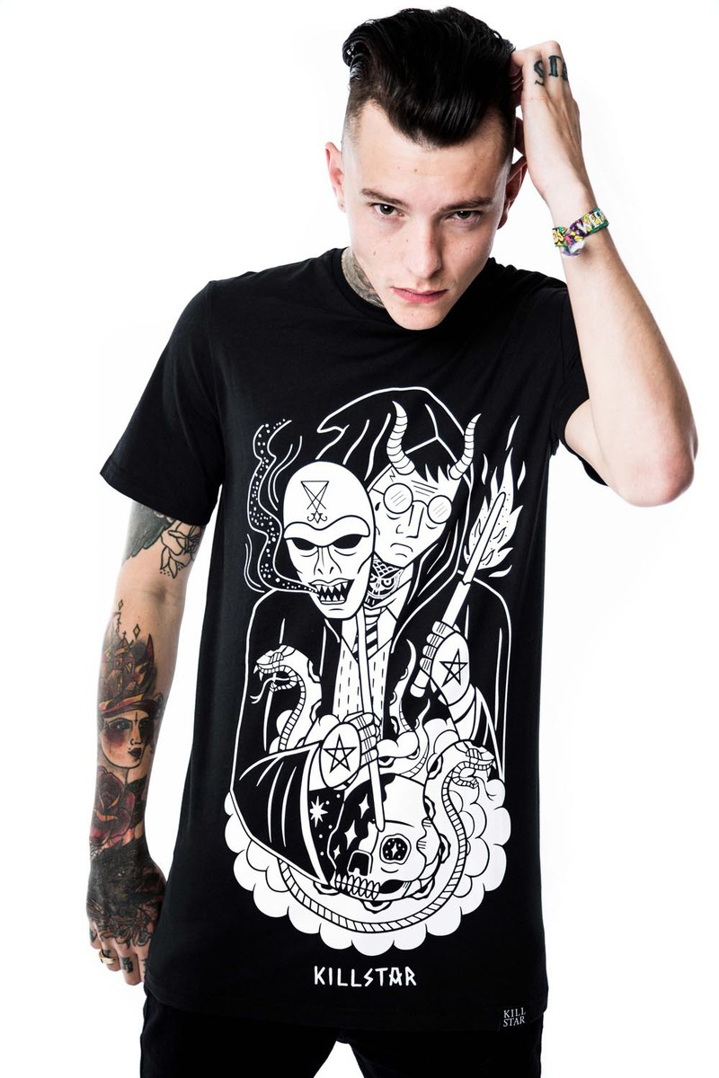 tričko (unisex) KILLSTAR - Harry - Black - KIL021