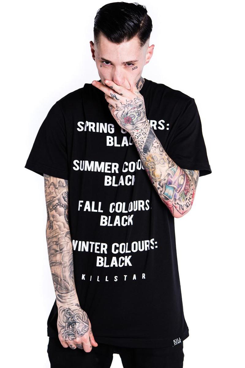 tričko (unisex) KILLSTAR - Season - Black - KIL222